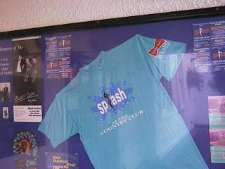 Epping Forest Country Club, SPLASH T-Shirt 1997