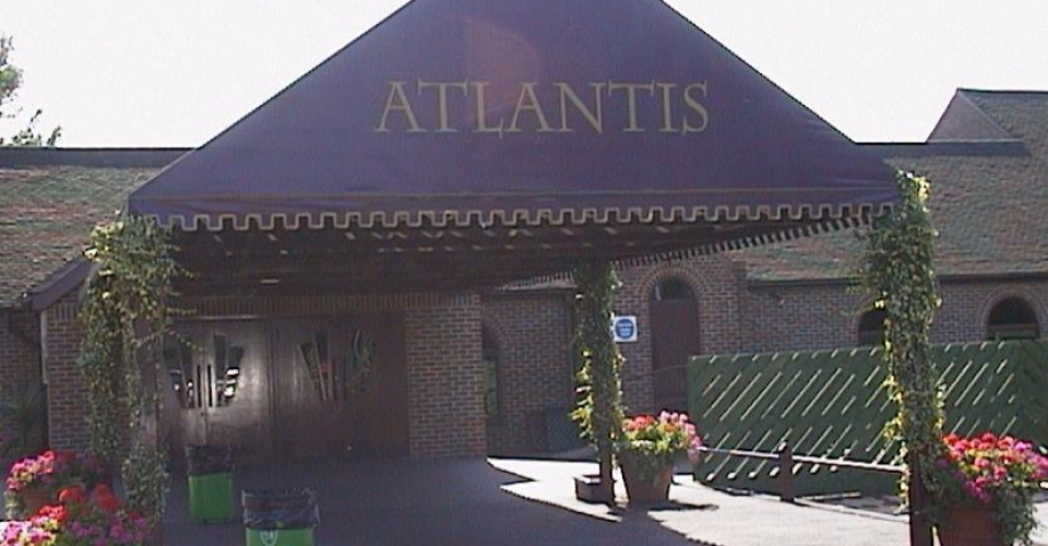 Epping Forest Country Club, Atlantis Night Club Side Entrance 1997