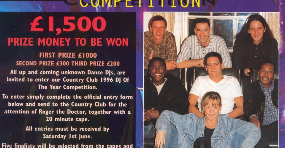 Epping Forest Country Club In House Magazine, DJ Johnny H With Other DJ, Hosting DJ Competition